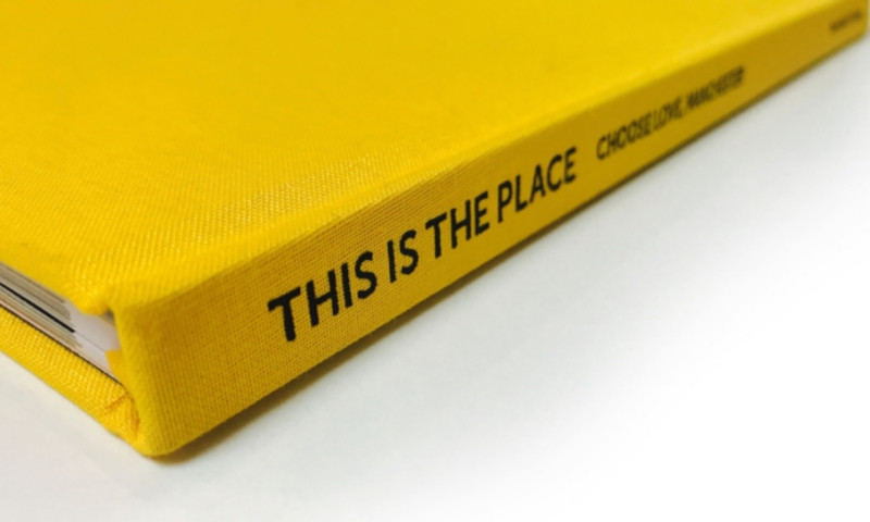 Manchester fundraising book 'This is the Place' is now available