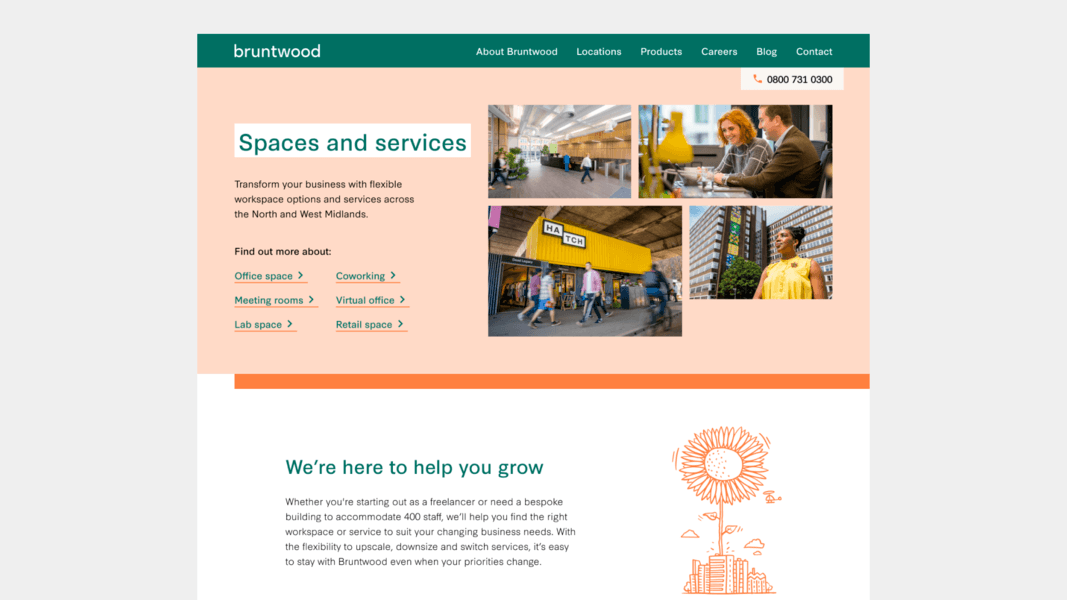 Spaces and Services