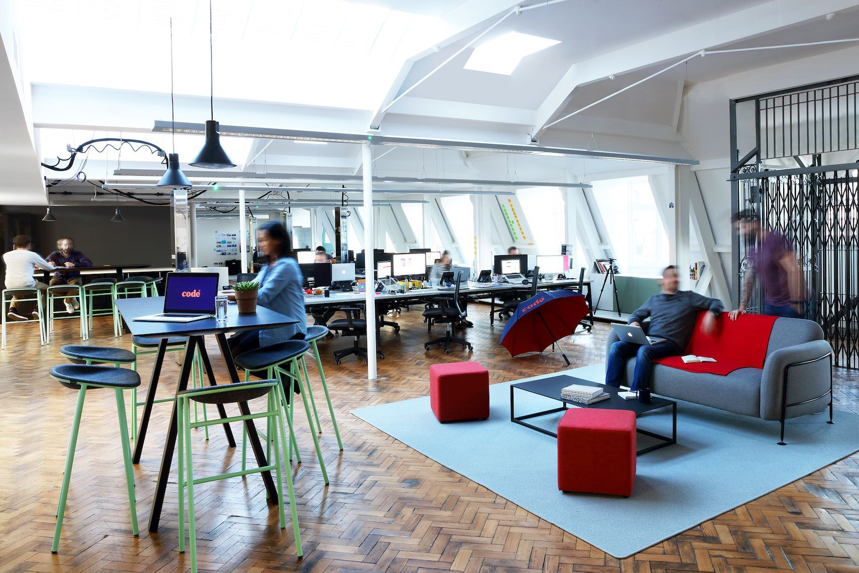 Code Computerlove office shortlisted for Inspired Spaces North 2017