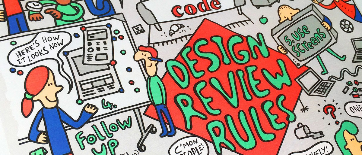 How to run a design review: 10 rules we follow