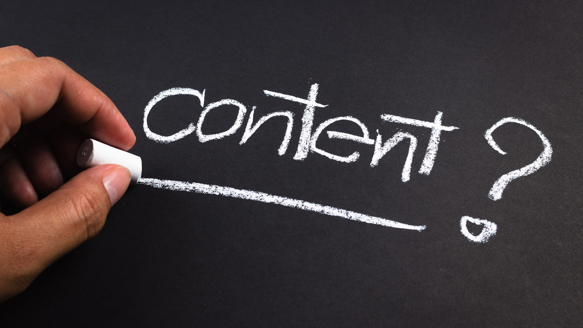 5 main stages to producing great content